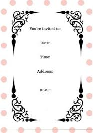 free printable birthday party invitations for girls free printable birthday invitations for kids freeprintables