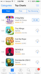 Apple Tweaks The App Store Top Charts On Ios Devices