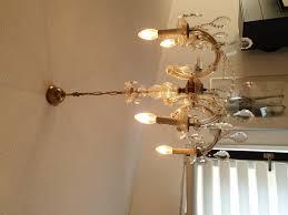 Kronleuchter Lampe Decke Kerzen Antik