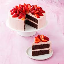 Chocolate Strawberry Cake Cooks Country