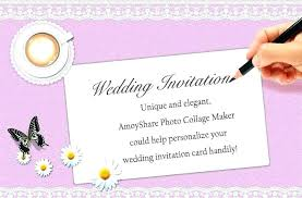 Online Wedding Invitation Maker Wedding Invitation Maker In Metro