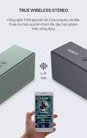 Loa Bluetooth ROBOT RB420 Công Suất 6W Hỗ trợ TWS ghép đôi 2 loa Âm thanh  vòm hỗ trợ thẻ nhớ và cổng AUX/USB - Hàng Chính Hãng - SIÊU THỊ SALE ONLINE