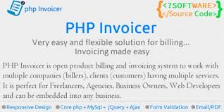 Web Design Invoice New PHP Invoicer Simple Invoicing Tool Codester