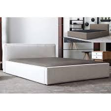 Fresh Build Cal King Platform Bed 5740Linen Platform Bed