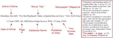 bibliography mla the