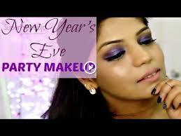 o my angels i am sharing this dramatic purple eye makeup tutorial and full face makeup tutorial for the new year s eve party wish you all a very h