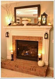 brick fireplace mantel smart design brick fireplace mantel decor stunning decoration lobbies and fire places red