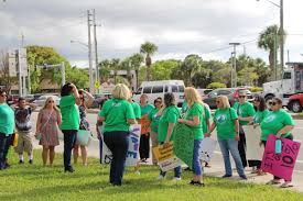 palm beach teachers pas protest bill that would share public