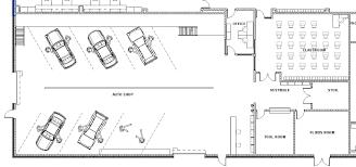 automotive workshop floor plans