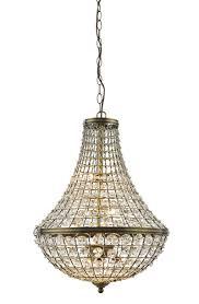 crystal basket pendant chandelier