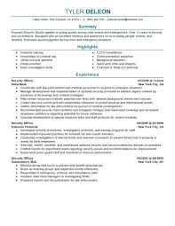 security guard resume objective dazzling security guard resume objective format related to officer