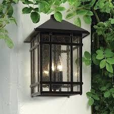 craftsman exterior lighting j j sierra craftsman high outdoor wall light lamps plus sears outdoor lighting fixtures