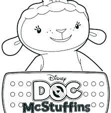 Doc Mcstuffins Coloring Pages Online Kryptoskoleninfo