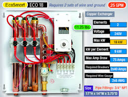 ecosmart wiring ecosmart image wiring diagram best tankless water heater electric whole house models on ecosmart 11 wiring