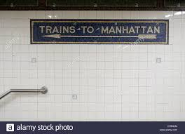 subway station wall.  Wall An Old Mosaic Sign On The Wall Of A Brooklyn Subway Station That Reads  U0027Trains Intended Subway Station Wall Y