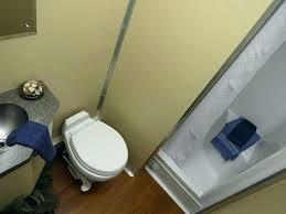 showers shower toilet combo unit 3 stall trailer interior for airstream shower toilet combo unit