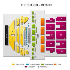 Fillmore Seating Chart Rodney Carrington Detroit Tickets 5 20 2018 7 00 Pm