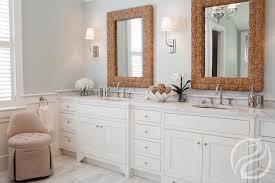 Bathroom with Rope Vanity Mirrors Transitional Bathroom