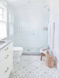 Patterned Bathroom Floor Tiles Best 48 Beyond Stylish Bathrooms With Patterned Encaustic Tile Bathroom
