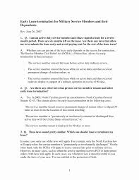 Sample Letter To Landlord To Terminate Lease Early Termination Of Lease Agreement Letter From Landlord New Sample