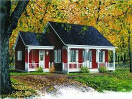 image of small farmhouse plans