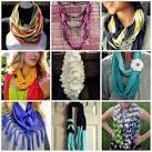 Как сделать из старого шарфа