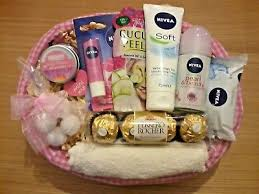 luxury womens nivea per her gift basket for her birthday present mum wife