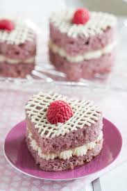 Fresh Raspberry Mini Cakes Goodie Godmother