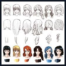 Hair Style Anime hair styles straight to curly by foreverfornever740 on deviantart 5640 by wearticles.com