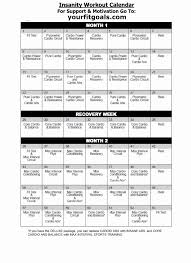 workout sheets p90x workout sheets pdf inspirational insanity workout calendar