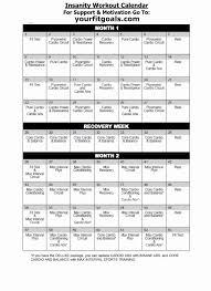 workout sheets p90x workout sheets pdf inspirational insanity workout calendar