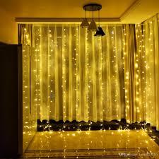 Großhandel 3x3 Mt Led Fenster Vorhang Lichterketten 300 Led