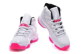 air jordan shoes for girls 2015. 2015 air jordan 11 gs white pink-1 shoes for girls