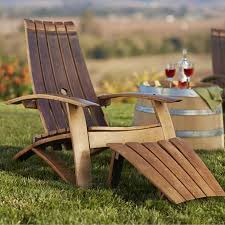 source outdoor furniture south. make garden or outdoor furniture from wine barrels adirondack chair source south