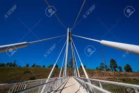 Suspended Walkway Design Cable Design Suspension Pedestrian Walkway Bridge Over Highway