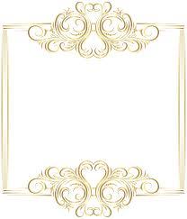 fancy frame border transparent. Golden Clipart Gold Border Fancy Frame Transparent