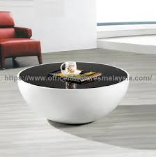 unique round coffee table office furniture malaysia shah alam kuala lumpur serdang 1a