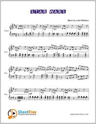 Musicnotes features the world's largest online digital sheet music catalogue with over 400,000 arrangements available to print and play instantly. Star Wars Sheet Music For Piano Download Sheetfree Com