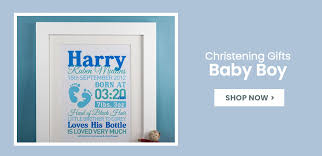 personalised christening gifts for boys