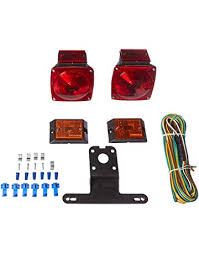 amazon com lighting trailer accessories automotive maxxhaul 70094 12v light kit for trailers under 80