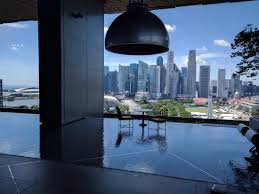 infinity pool singapore hotel. JW Marriott Hotel Singapore South Beach: Viewed From The Marriott\u0027s 18th Floor Infinity Pool