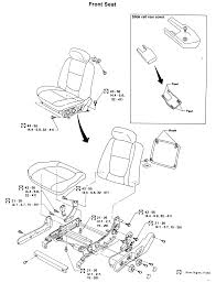 2 exploded view of a powered front seat assembly
