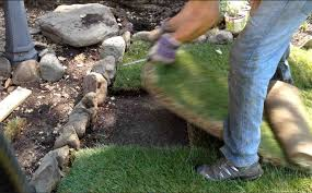 Diy Sod How To Install Repair A Sod Patch On Lawn Or Grass Diy Youtube