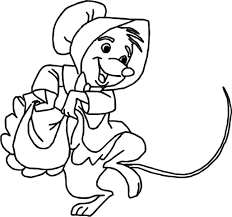 Small Picture Little Sister Mouse Robin Hood Character Coloring Page