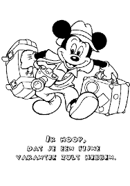 Mickey Mouse Coloring Pages Coloringpages1001com