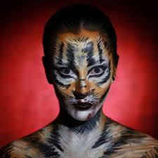 tiger face makeup