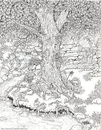 Small Picture crazy detailed nature picture from bestadultcoloringcom