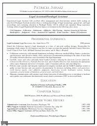 Legal Secretary Resume Objective Assistant Examples Of Resumes