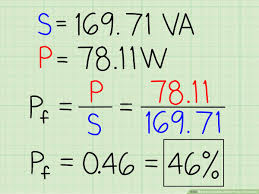 Power Factor Correction Calculation Chart How To Calculate Power Factor Correction 8 Steps With