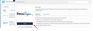 Freshservice Integration With Docusign Freshservice